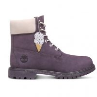 "Timberland womens ice cream pack 6 "" boot in purple"